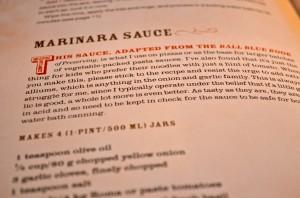 Marinara Recipe, Food in Jars. @coreylatislaw.com