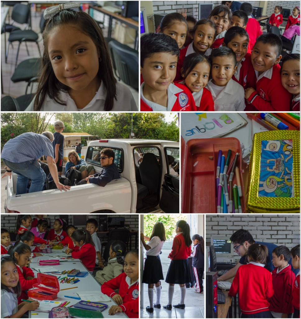 18 De Marzo - Students showing appreciation for Kids on Computers coming to their school. (2014). @coreylatislaw.com