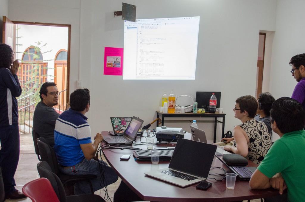 Coding Dojo 2014 - Teaching the guys to use the git repository. @coreylatislaw.com