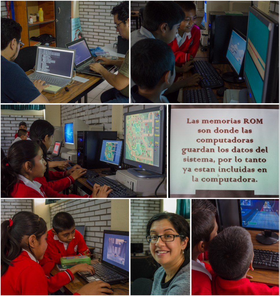 Martes a 18 de Marzo. Kids working on computers. @coreylatislaw.com