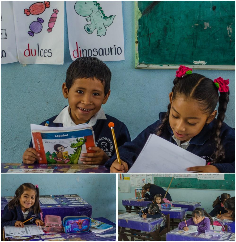 Young students at the Manuel Gonzalez Gatica school. (2014)  @coreylatislaw.com