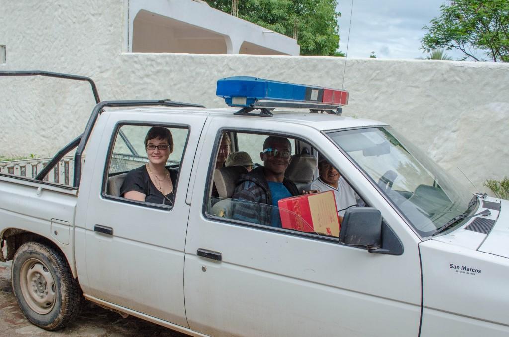 Traveling around San Marcos Arteaga with the group. @coreylatislaw.com