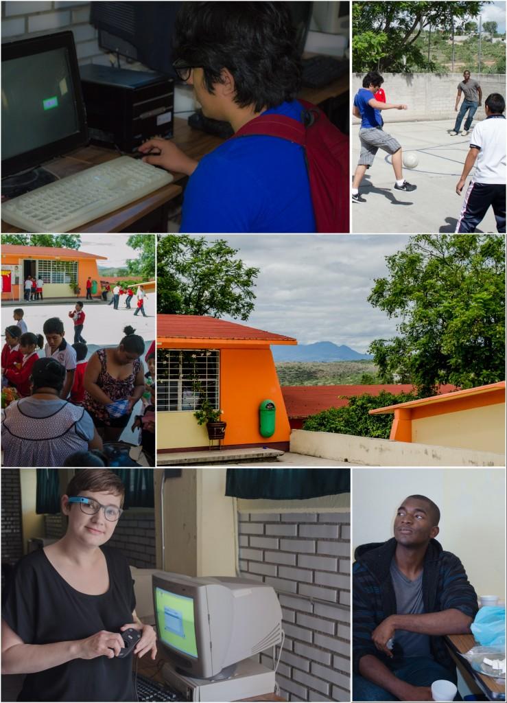 Futbol and Volunteers at the 18 de Marzo school. @coreylatislaw.com