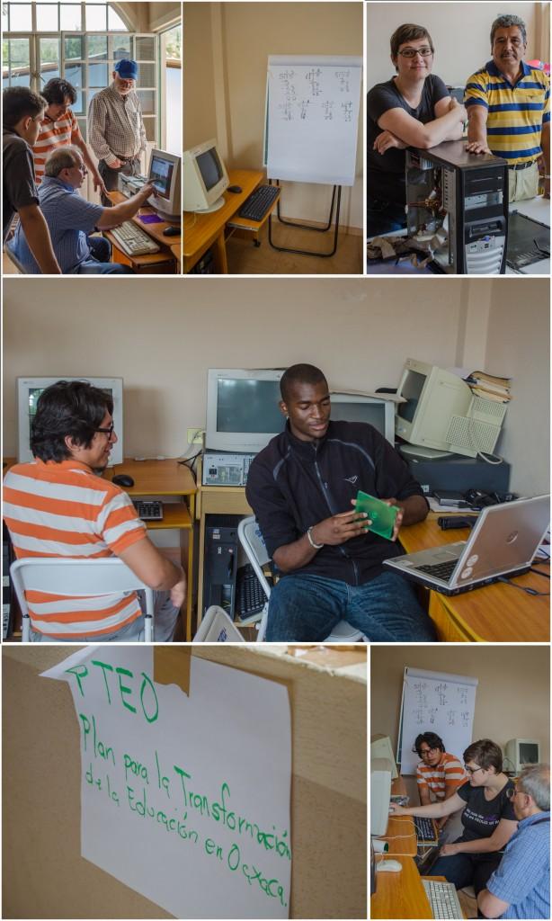 Working with Volunteers at the Manuel Gonzalez Gatica School. (2014) @coreylatislaw.com